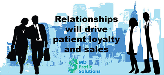 Relationships drives sales