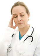 stressed doctor MD Profit Solutions
